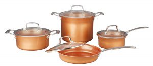 Concord Ceramic Coated Copper Cookware Set Review
